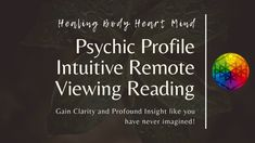 Psychic Profile Intuitive Remote Viewing Reading #PsychicSpiritGuide #OnePsychicQuestion #PsychicAwakening #SpiritGuideMessage #EnergyReading #SoulPsychicGuide #RemoteViewing #RemoteReading #SpiritualReading #AdviceReading Psychic Awakening, Opposite Words, Remote Viewing, Deep Meditation, Heart And Mind, Spirit Guides, Listening To You, Intuition, Like You