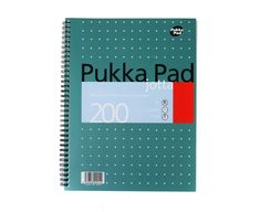 Pukka Jotta Notepad A4 80gsm Wirebound 200 Pages 100 Sheets