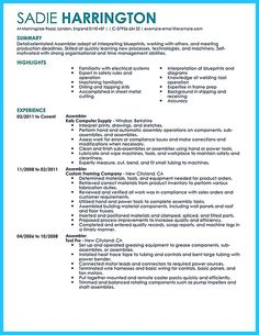 Resume Titles Examples that Stand Out Luxury Awesome Professional assembly Line Worker Resume to Make Latest Resume Format, Free Resume Format, Cv Examples, Good Resume Examples, Writing Jobs, Resume Writing, Registered Nurse Resume, Good Cv