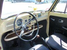 FOR SALE — L19 Yukon Yellow '67 Vert   1967 VW Beetle. A rare bird!