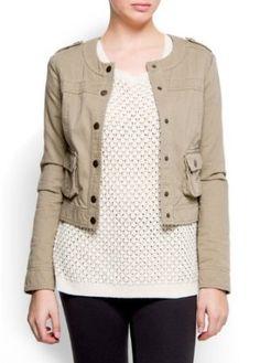 Mango Womens Pocket Jacket $74.99