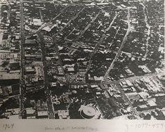 Aerial of Hemisfair Neighborhood 1964