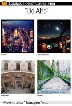 """Bombou no Instagram #102 - """"Do Alto"""" - http://epoca.globo.com/colunas-e-blogs/bombou-na-web/noticia/2014/09/melhores-fotos-do-alto-no-bbombou-no-instagramb.html"""
