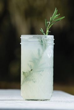 Mrs. Wilson's Rosemary Lemonade