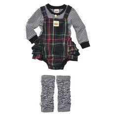 Harajuku Mini for Target® Infant Girls' Plaid Jumper and Legging Set.... I love this line by Gwen Stefani