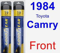 Front Wiper Blade Pack for 1984 Toyota Camry - Assurance