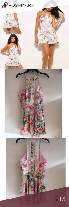🌺🌸Floral print summer dress🌸🌺 🌸Cute floral print summer dress 🌺🌸 unworn, Brand new, only 1 left Dresses Mini