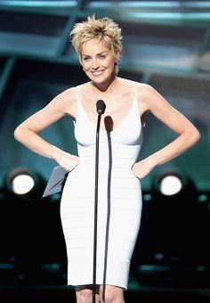 More Pics of Sharon Stone Pixie Hollywood Fashion, In Hollywood, Blond, Sharon Stone Photos, Laurie Anderson, Lab, Espy Awards, Choppy Hair