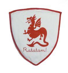 Bouclier de chevalier Ratatam  http://www.ratatamkids.com