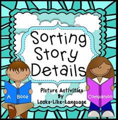 Pictures for story details, sorting mats, worksheets and games/activities to accompany It Looks Like Spilt Milk (book not included.) $