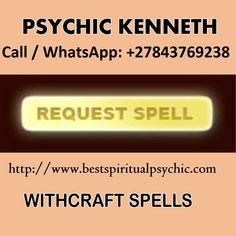 Lovers Soul   Call   WhatsApp: +27843769238   www.bestspiritualpsychic.com #love #money #lottery #relationships #business #success #prosperity Easy Love Spells, Spells That Really Work, Love Spell That Work, Powerful Love Spells, Psychic Love Reading, Love Psychic, Psychic Test, Spiritual Healer, Spiritual Guidance