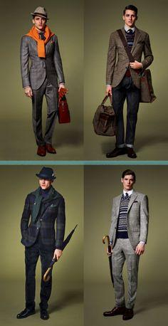 Hackett - London - autumn/winter 2013 #fashionformen #men'swear