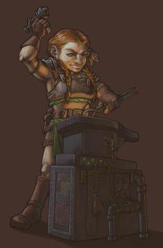 $75 - Dwarfette by AlisaChristopher.deviantart.com on @deviantART