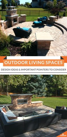 If you're ready to update your outdoor living space in a big way, then here are some essential elements to keep in mind when designing your outdoor living space. [Outdoor Patio Ideas, Outdoor Lounge Area, Outdoor Living Room Decor] #BackyardPatios #PatioDesignIdeas #OutdoorLivingSpaces