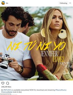 Another hit: Jennifer Lopez shared this post on Wednesday with a photographer to thank her fans for liking Ni Tu Ni Yo