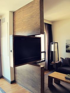 TV Swivel Concepts – Very Practical And Perfect For Modern Homes #InteriorDesign