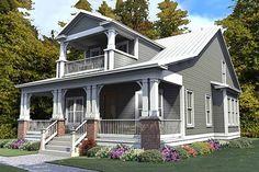 Craftsman 3 Beds 3 Baths 2296 Sq/Ft Plan #63-380 Front Elevation - Houseplans.com