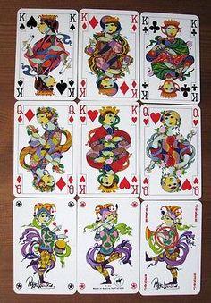 Bjorn Wiinblad Playing Cards Piatnik 1970s Mint Austria | eBay