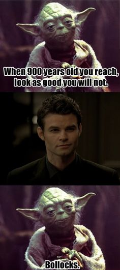 Hahaha! Elijah is a perfect way to go against this. All of the Originals are really. So is Silas