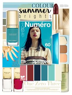 """""""beauty color blue"""" by licethfashion ❤ liked on Polyvore featuring beauty, Michael Kors, Victoria's Secret, Dolce&Gabbana, Gucci, Anja, polyvoreditorial and licethfashion"""