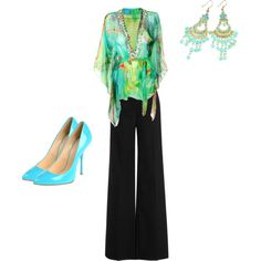 artsy work casual, created by alanna-bowes on Polyvore