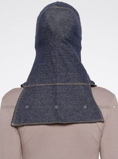 The perfect addition to any Muslimah outfit, shop Capsters's stylish Muslim fashion Jeans Casual Headwear - Dark Blue. Casual Jeans, Jeans Style, Muslim Fashion, Hijab Fashion, Sports Hijab, Head Wraps, Dresses Online, Dark Blue, Hijabs