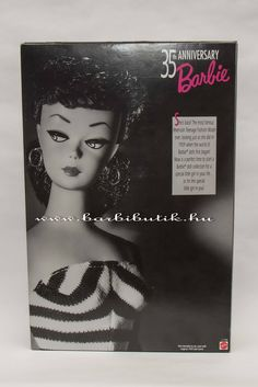 1959-es első Barbie reprodukciója! :) / The first Barbie reproduction.