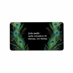 ==>>Big Save on          	Green Feathers with Black Personalized Address Labels           	Green Feathers with Black Personalized Address Labels In our offer link above you will seeDiscount Deals          	Green Feathers with Black Personalized Address Labels please follow the link to see full...Cleck Hot Deals >>> http://www.zazzle.com/green_feathers_with_black_label-106000917169129697?rf=238627982471231924&zbar=1&tc=terrest