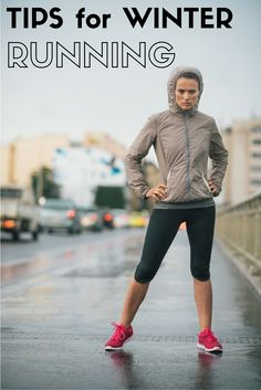 3 great tips for winter running. Keep up with your resolutions through the winter!