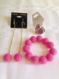 Breast cancer awareness set $30.00
