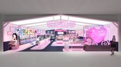 Make-up brand retail design concept crafted by Design Overlay # Overlay Company Work, Retail Design, Overlays, Concept, Makeup, Crafts, Make Up, Manualidades, Beauty Makeup