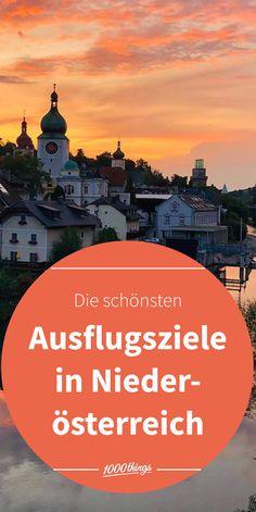 Wir haben uns im schönen Niederösterreich umgesehen und für euch empfehlenswerte Ausflugsziele und Locations zusammengestellt. Bei diesem vielfältigen Programm ist sicher für jeden und jede von euch etwas dabei. Reisen In Europa, Around The Worlds, Adventure, Movies, Movie Posters, Secret Places, Road Trip Destinations, Hiking, Things To Do
