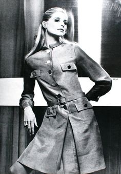 Jill Kennington photographed by Louis Astre, Collections Summer 1968