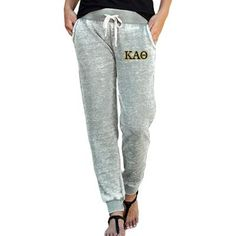 de2f5e4bab5c2 Sorority Embroidered Zen Jogger Pant  SomethingGreek  SororityJogger  Joggers Womens