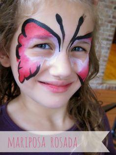 Nuestro Mundo Creativo: Cómo pintar la cara de los niños {paso a paso}
