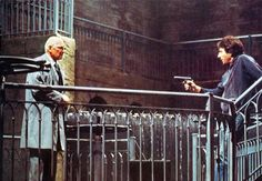 http://cdn.aarp.net/content/dam/aarp/entertainment/movies-for-grownups/2013-02/620-dustin-hoffman-laurence-olivier-marathon-man.imgcache.rev... Dustin Hoffmann (Babe) faces Lawrence Olivier (Szell) in a role reversal. The diamonds are in the briefcase between them in the final scenes from The Marathon Man (1976).