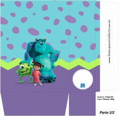Monsters Inc, Monster Party, Birthday Parties, Birthday Ideas, Birthdays, Kids, Html, Printables, Party Kit