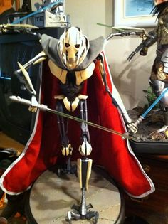 how to make kirigami general grievous