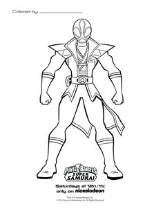 Super Power Rangers Coloring Pages Printable Sheet Com