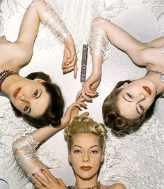 "strikingly gorgeous Vogue image from 1939 simply must appear alongside the word ""glamorous"""
