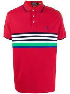 Camisa Polo, Polo Jeans, Polo Shirt, T Shirt, Polo Ralph Lauren, Austrian Empire, Stripe Pattern, Button Down Collar, Sports Shirts