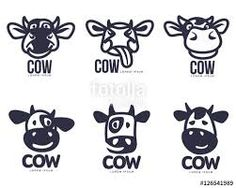 Set of funny cow head templates, cartoon vector illustration on white background. set of Cow Icon, Cow Logo, Aesthetic Space, Cow Head, Cute Wallpaper For Phone, Disney Fun, Videos Funny, Cute Wallpapers, Healthy Dinner Recipes