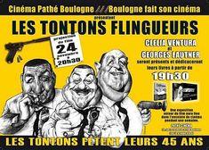 """La péniche des """"Tontons Flingueurs""""."""