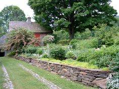 natural stone backyard landscaping - Google Search