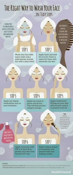 Right way to #wash your #face YOUR HEALTH - Community - Google+