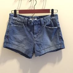 Free People Denim Shorts Brand new, never been worn! Size 26. Button and snap closure. Great fit!! (Have way too many shorts to give these there deserved attention).                                                                   No trades, please. Free People Shorts Jean Shorts