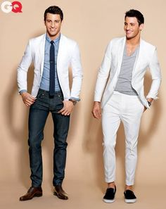 White Suit Season #menswear #style #suit