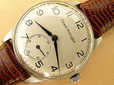 Vintage Girard-Perregaux Steel Watch For Sale In UK | Vintage Watches