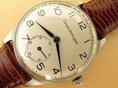 Vintage Girard-Perregaux Steel Watch For Sale In UK | Vintage Watches