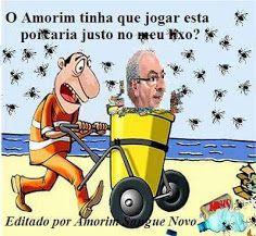 A charge do  Amorim